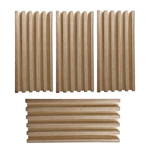 4PCS Bandejas de dominó Racks de dominó de madera Soportes de dominó...