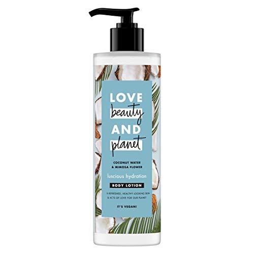 Love Beauty And Planet Lait Hydratant pour le Corps, Hydratation Sublime, Certifié Vegan 400ml