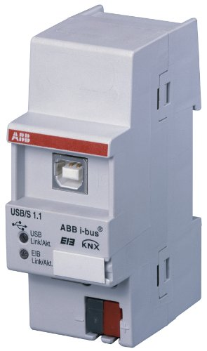 Preisvergleich Produktbild ABB USB / S1.1 EIB / KNX USB-Schnittstelle,  REG