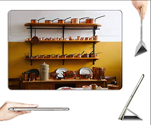 Case for iPad 10.2-inch 2019 (7th Generation) - Saucepans Copper Kitchen Food Kitchenware Cook