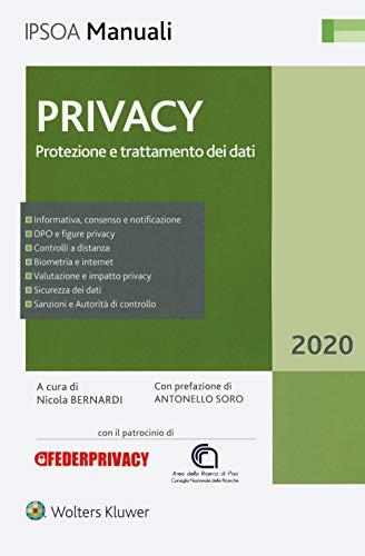 Privacy. Protezione e trattamento dei dati