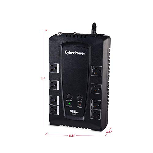Build My PC, PC Builder, CyberPower CP685AVRG