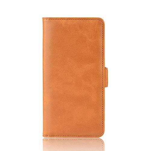baizhi Cas pour IQOO U3 Portefeuille de Portefeuille en Cuir Portefeuille Vintage Magnet Téléphone pour Y52S Coque (Color : Yellow, Size : Vivo Y52S)