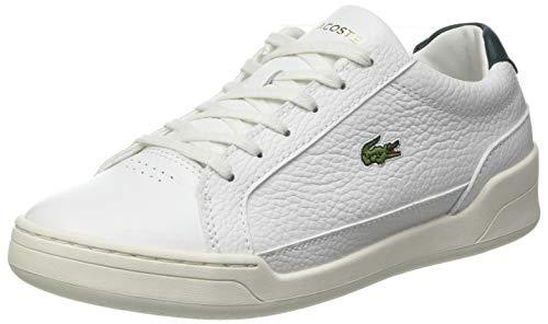 Lacoste Damen Challenge 0120 1 SFA Sneaker, Weißes Wht Dk Grn, 37.5 EU