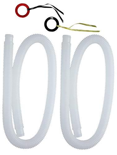 Intex Schlauch Poolschlauch | 32mm | Länge 150cm | 2-teilig |VonBueren Verpackung