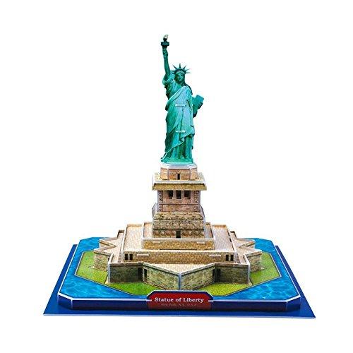 Simba 10 613 7313 - Puzzle 3D Statua della Liberta'