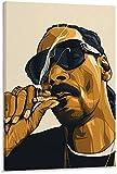 Snoop Dogg Rauchen Poster Dekorative Malerei Leinwand,