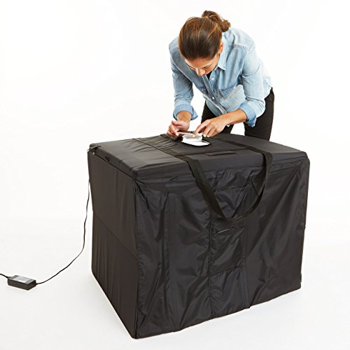 AmazonBasics Portable Foldable Photo Studio Box with LED Light - 25 x 30 x 25 Inches 2