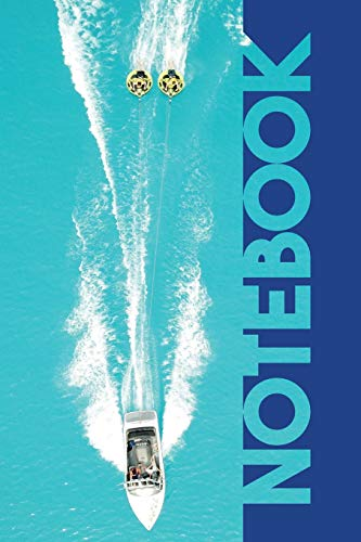 Notebook: Tubing Water Sports Gorgeous Composition Book for your Ibiza Holiday [Idioma Inglés]