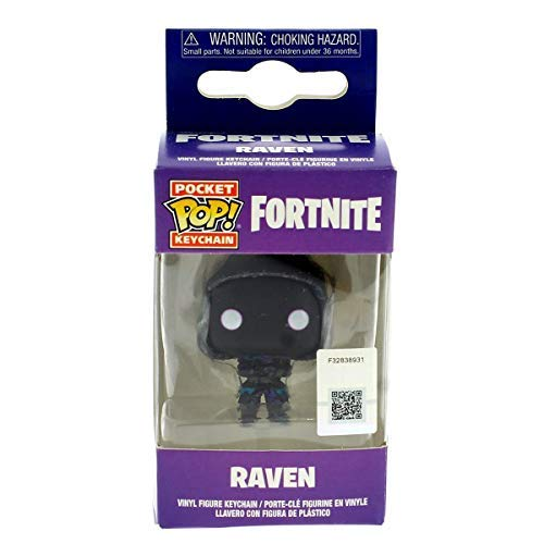 Funko - Figurine Fortnite - Raven Pocket Pop 4cm - 0889698357180