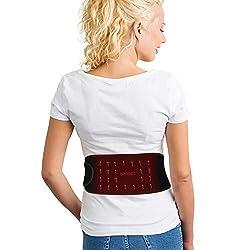 BRIGENIUS Far Infrared Heating Pad for Back Pain