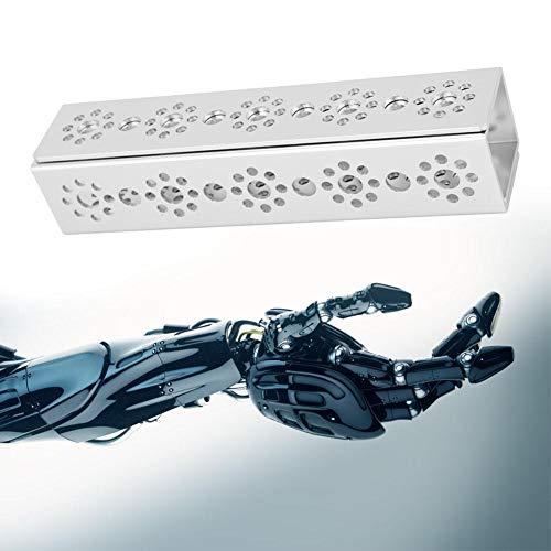 U-vormige balk 160 mm 9 gaten, 2 stuks 9-gaats U-kanaal 160 mm aluminium robotkits Geschikt voor Tetrixrobotics - Compatibel met Tetrixrobotics en Pitsco Robotonderdelen