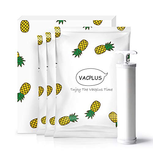 Vacplus ふとん圧縮袋 3枚組(100×80cm ポンプ付き)