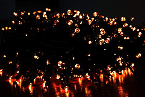 Euronatale Luci di Natale per Albero, 1000 LED Luce Calda Gialla, 20 m