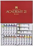 クサカベ 油絵具 専門家用 油絵具セット 21色セット アカデミー21 20ml