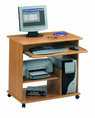 Jahnke 80828 Computer Tisch CT 1 Buche Nachbildung 80 x 77 x 48 cm