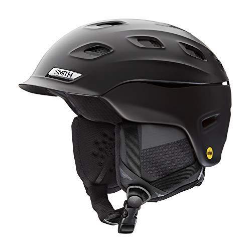 Smith Optics Vantage MIPS Snow Helmet (Medium, Matte Black)