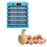N&W Eggs Incubator 320 Automatic Digital Auto-Turning Egg Incubator Automatic Poultry Hatcher Machine with Automatic Egg Turning Built-in Egg Candler Chicken Quail Duck Goose Turkey