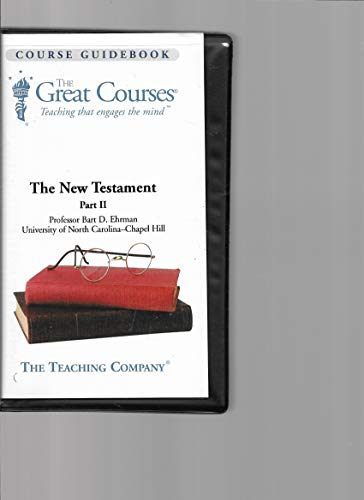 The Great Courses on Tape - The New Testament - Part II