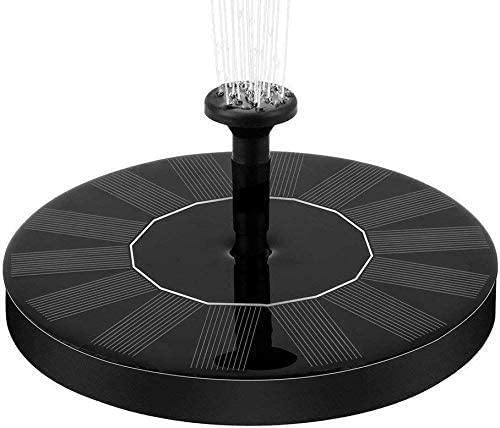 Max 75% OFF HYCQ Solar Fountain Pump Popularity Powered Free Standing F