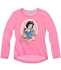Princesa niña Camiseta Manga Larga – Fucsia