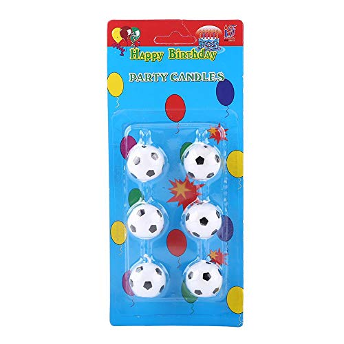 Jadeshay 6 Piezas balón de fútbol fútbol Fiesta de cumpleaños ...