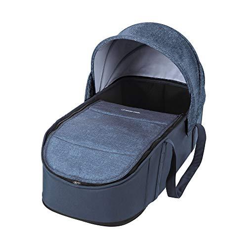 Maxi-Cosi 1502243300 Laika - bequem gepolsterte und geräumige Kinderwagenaufsatz ab Geburt verwendbar, Nomad blau