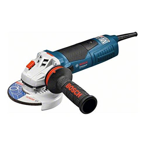 BOSCH 060179N002 - Miniamoladora GWS 19-125 CI Professional. 1.900 W. 125 mm. 11.500 rpm. Arranque suave. Protección contra rearranque. kickBack Stop. 2,4 Kg con Empuñadura anti-vibración. Caja de cartón.