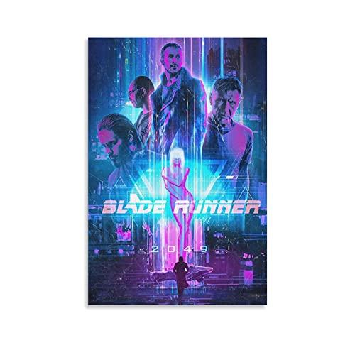 Blade Runner 2049 Ciencia ficción carteles de la película vintage de la lona de las pinturas de la percha de la imagen de la decoración del arte de la pared de la sala de estar del hogar 30 x 45 cm