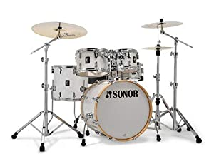 Sonor AQ2 Stage Maple 5-Piece Shell Pack (White Marine Pearl)