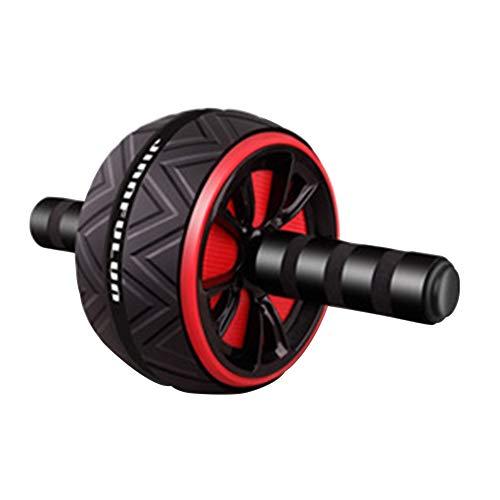 HilMe Rodillo abdominal, rueda de rodillo antideslizante, práctico equipo de entrenamiento para ejercicio, fitness, deportes al aire libre, artículos deportivos