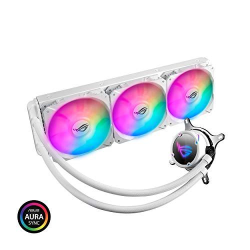 Asus ROG STRIX LC 360 RGB White 80.95 CFM Liquid CPU Cooler
