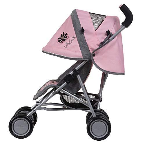Daisy Chain Silla de Paseo para muñecos Little Zipp: Tejido Classic Pink. Recomendado para niños de 18 Meses a 3 años.
