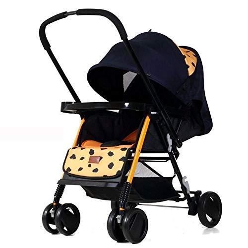 ZhiGe Kinderwagen sport Reversible finden Platz in einem großen Sitz Baby Kinderwagen