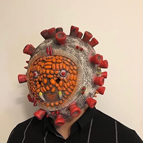 Milu deer Accesorios Propaganda Antiepidémica Máscara Virus Accesorios Carnaval Halloween Accesorios Goma para La Fiesta Halloween (Color : D, Size : One Size)
