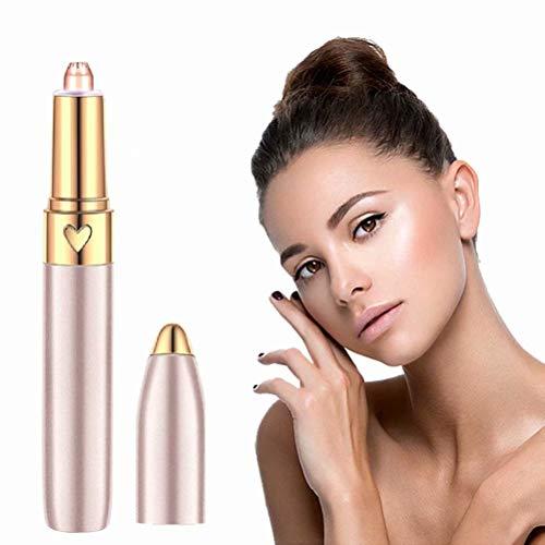 Gezichtsepilatie USB Opladen Wenkbrauw Trimmer Lippenstift Wenkbrauw Haarverwijderaar Elektrische Pijnloze Gezichtsexfoliator Lady Shaver Epilator