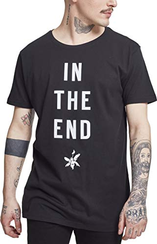 MERCHCODE Herren T-shirt Linkin Park In The End Tee, black, S, MC150