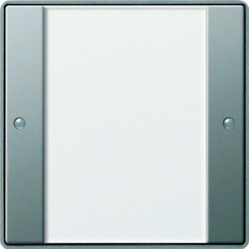 Gira 101120 KNX Tastsensor 2 1-Fach ohne Controller Gira E22, Edelstahl