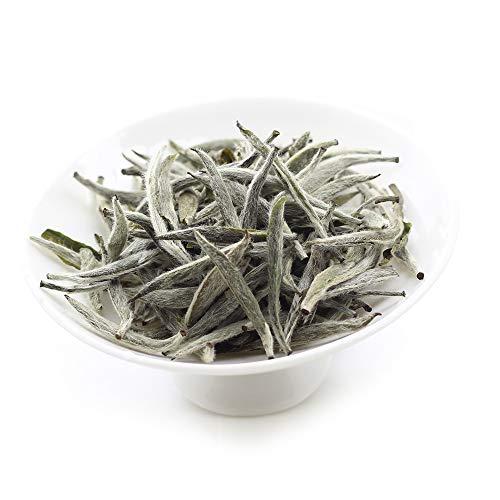 古い木 福鼎白豪銀針 白茶 中国茶 福建省産 30g (アイロン缶収納)