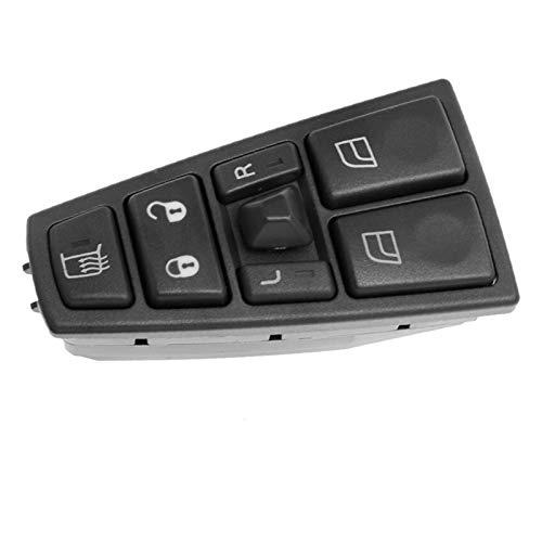 binbin Interruptor de ventana eléctrica Fit para Volvo FH12 FM12 FM9 FH FM VNL 20752918 20953592 20455317 20452017 21354601 21277587 20568857 21543897