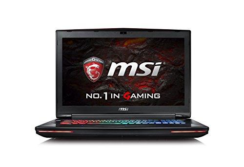 MSI GT72VR 6RE 'Dominator Pro' 234UK 17.3-Inch FHD Gaming Notebook (Black) - (Intel i7 6700HQ, 16 GB RAM, 128 GB SSD, 1 TB HDD, GTX 1070 Graphics Card, Windows 10)