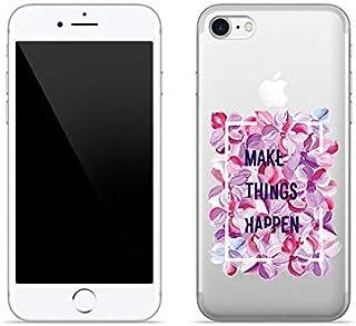 Etui na Apple iPhone SE (2020) - etui na telefon Crystal Design - Make things happen - guma case obudowa silikonowa wzory