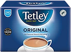 Tetley zwarte thee 240 zak. 750 g - originele Engelse versie