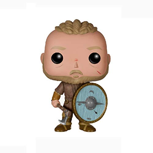 Vinyl Bobble-Head POP Viking Legend-Wikinger Dekoration Rollo/Lagarta Auto-Dekoration (Color : B)