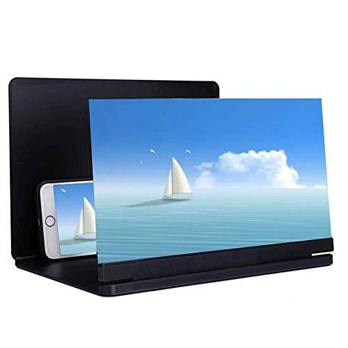 Screen Magnifier, 3D-Phone Screen Magnifier Hd Stereoscopic mobiele telefoon scherm versterker, voor iPhone XS/X Max/XR/X/8/8Plus/Samsung/Huawei, alle smartphones (grootte: 21 inch)