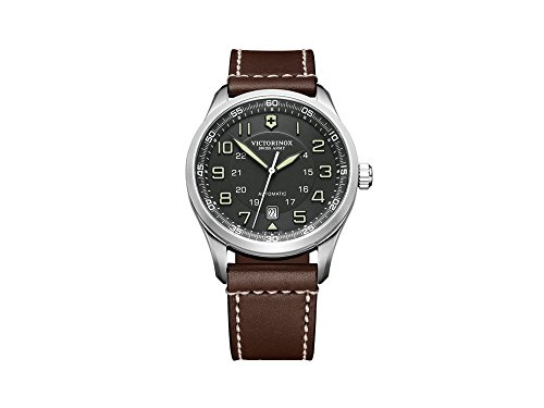Victorinox airboss orologio Uomo Analogico Manuale con cinturino in Pelle...
