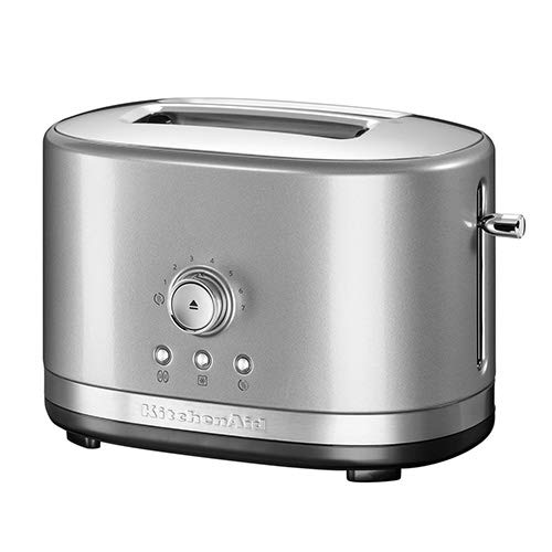 KitchenAid 5KMT2116BCU 2 Slot Manual Control Toaster - Silv