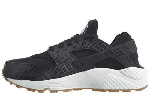 Nike Air Huarache Run Premium W Sneakers Donne Nero - 36 - Sneakers Basse