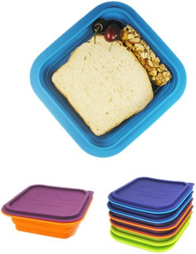 Make My Day All Gone Collapsible Bowl, Multicolored