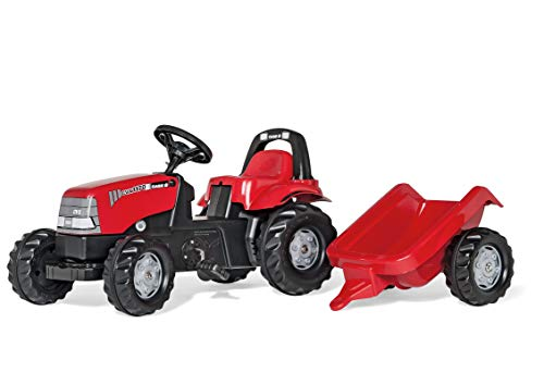 Lowest Prices! Rolly Toys CASE CVX 1170 Kid Tractor with Trailer